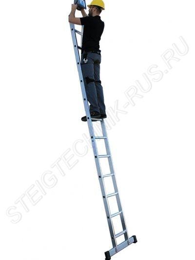 Приставная лестница алюминий Günzburger Steigtechnik 10006