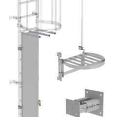 Комплекты модульной системы для настенных лестниц