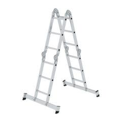 Четырехсекционная многоцелевая лестница