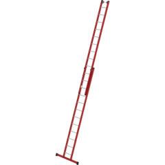 Двухсекционная выдвижная лестница из армированного стекловолокна