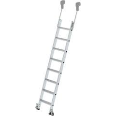 Мобильная стеллажная лестница