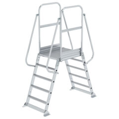 Двухсторонняя мостовая стационарная лестница