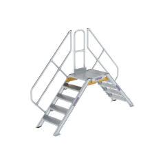 Мостовые лестницы из алюминия 45°