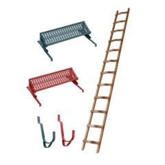 Лестницы и аксессуары для кровли