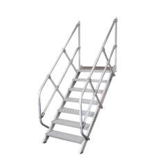 Трапы и мостовые лестницы из алюминия