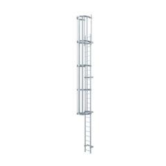 DIN EN ISO 14122-4: Вертикальные лестницы для промышленности